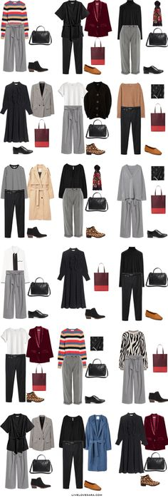 A simple Capsule Wardrobe in 5 Some what Easy Steps 18 Outfit Options | Capsule wardrobe | capsule | teacher capsule wardrobe | work wardrobe | work capsule | work capsule wardrobe |