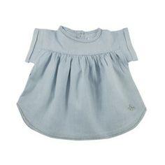 Tocoto Vintage Kleid Denim