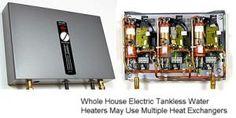 Cómo Reparar un Calentador de Agua Eléctrico o a Gas: Calentador de agua sin tanque - lo que usted necesita saber