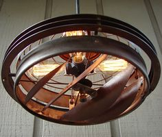 BenclifDesigns Vintage Relics Lamps Industrial Lighting | Cool Material