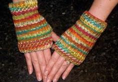 I will crochet fingerless gloves, I can make all colors! I LOVE making them, they look great, and are fashionable! Its a great gift idea because winter is coming up! I also do other gigs that include crochet scarfs, mittens, headbands/earmuffs and hats. I can make the one that matches your gloves!!