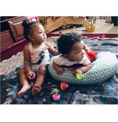 pinterest: @omgxnai ♔ Cute Kids, Cute Babies, Baby Kids, Baby Baby, Beautiful Black Babies, Beautiful Children, Blasian Babies, Biracial Babies, Cutest Babies Ever