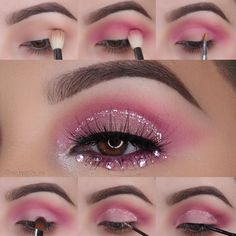 Pink Festival Look by adele1588 on the #Sephora Beauty Board