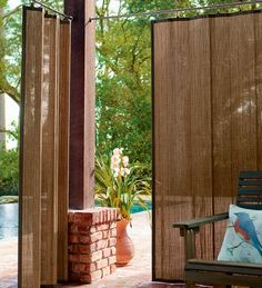 outdoor curtain panels for patio