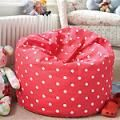 Bean bag pattern. Thinking about making my daughter one of pink with polka dots fabric, bet shes going to love it!