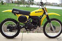 1977- Suzuki RM125B