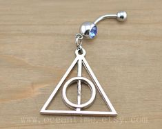 Definitely just ordered this - HP Deathly Hallows Belly Button Ring