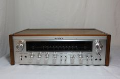 Vintage Sony AM/FM Stereo Receiver STR-7065. I have one of these still and love it to this day.