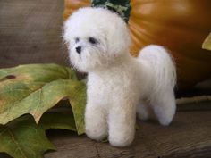 needle felted bichon frise - Google Search