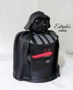 Estrade's cakes: tarta de Darth Vader.