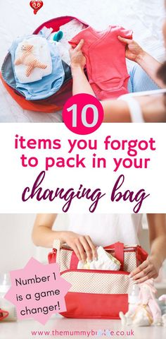 10 things you forgot to pack in your changing bag - The Mummy Bubble 10 things you forgot to pack in your baby changing bag - the items savvy mamas always have in their bag for trips out<br> We all know the obvious essentials that should be in your changing bag, but what about the stuff that you forgot. These are all the goodies I wish I had... Parenting Teens, Good Parenting, Parenting Hacks, Baby Changing Bags, Thing 1, Pregnancy Advice, Organized Mom, Baby Care Tips, Babies First Year