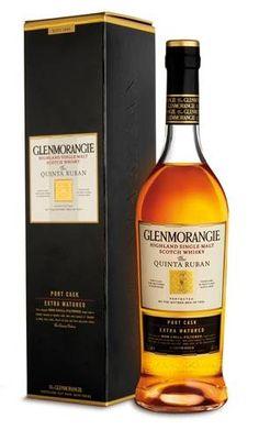 Whisky Single Malt Glenmorangie - Quinta Ruban 12 anos  Teor alcoólico: 46% Volume: 750 ml