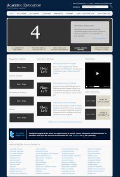 Free HTML Website Templates Student Login, Free Html Website Templates