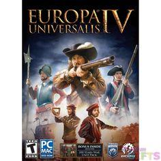 EUROPA UNIVERSALIS IV AMR (WIN XP,VISTA,WIN 7,WIN 8/MAC 10.6 OR LATER)