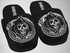 Sons Of Anarchy Reaper Slippers