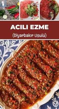 Heiße Paste (Diyarbakır-Stil) - Famous Last Words Turkish Recipes, Italian Recipes, Italian Foods, Mexican Recipes, Clean Eating Recipes, Cooking Recipes, Healthy Recipes, Meze Recipes, Italian Chicken Dishes