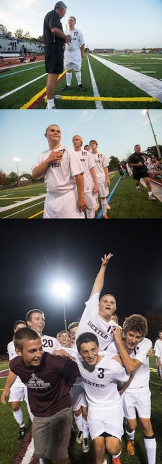 A Michigan soccer team giving their team manager with Down syndrome an opportunity to start: