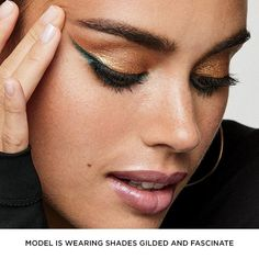 Add dramatic, bold color and gorgeous sparkle to your eyes with this versatile, buildable gel shadow and liner. Available in three metallic shades. BENEFITS• Dramatic, bold color and gorgeous sparkle• Versatile, buildable gel shadow and liner TO USE: Blend on lid with brush or fingertip to wear as a shadow. To line and define, apply close to lash line with a brush. Avon Eyeshadow, Avon Lipstick, How To Apply Eyeshadow, Liquid Eyeshadow, Contour Makeup, Eye Makeup, Paraben Free Makeup, Makeup Bag Essentials, Liner