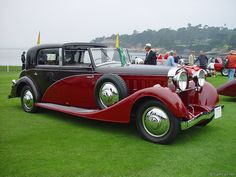 1934 Hispano-Suiza K6 Coupe Chauffer by Franay