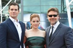Man of Steel is finally in theatres… Follow Henry Cavill, Amy Adams and Russel Crowe