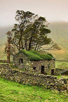 Yorkshire Dales.  Anglia zdjęcia poprzez Jenna