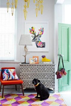 Fenton & Fenton./ Inspiración australiana | Atelier Decor    #neon #colors #carpet #trends  Idea for camode