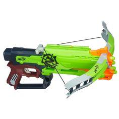 nerf zombie strike | Nerf Zombie Strike Crossfire Bow