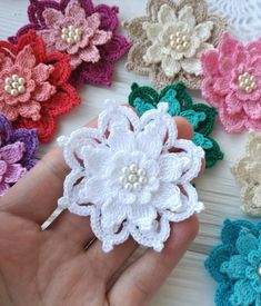 Excited to share the latest addition to my #etsy shop: Crochet flower PATTERN https://etsy.me/2IsKuqS