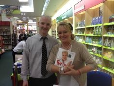Twink book signing in Eason Dundrum