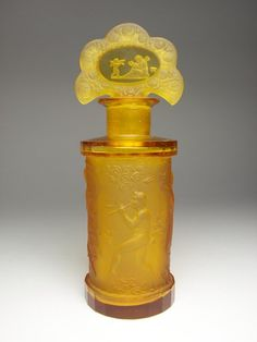 Art Deco Heinrich Hoffman perfume bottle