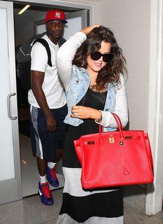 Lamar Odom and Khloe Kardashian Arrive at LAX #LamarOdom