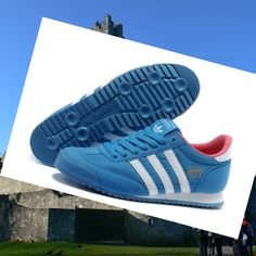best service 6e346 9d6d0 Adidas Dragon Womens Trainers Sky-Blue White,Good quality!You are worthy to  wear it .