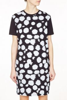 Jersey All Over Cheetah T-Shirt Dress by Etre Cecile
