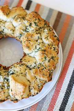 Recipe: Garlic Parmesan Monkey Bread