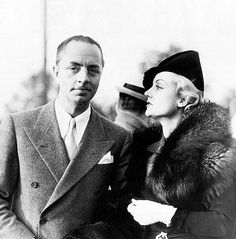 "billchandler: "" What's a divorce between friends? William Powell and his divorced wife, Carole Lombard, both of the films, are shown here as they attended the recent tennis matches in Los Angeles. Although divorced when Carole went to Reno, they have..."