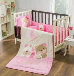 coord. edredon cama cuna corral dulces sueños niña vianney Baby Girl Quilts, Boy Quilts, Girls Quilts, Nursery Bedding Sets, Quilt Bedding, Girl Room, Baby Room, Cot Sheets, Baby Quilt Patterns