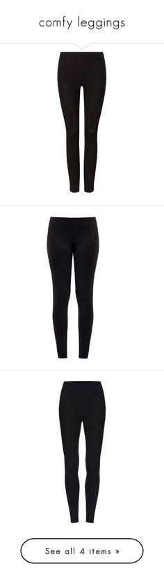 """comfy leggings"" by blossomfade ❤ liked on Polyvore featuring pants, leggings, skinny jean leggings, leggings jeggings, jean leggings, sparkly leggings, super skinny pants, black, nylon pants and slimming leggings"