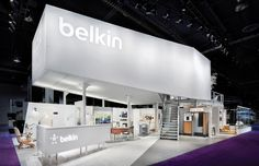 Belkin Expo - We'll be doing a few mezzanine stands this year, love innovative designs like this!