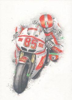 Steven Coughlin - racing motorcycle