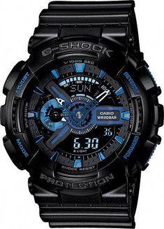 Mens G-Shock Initial Blue Anniversary Limited Edition 0cb8cb013ed