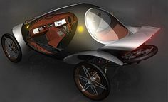 Lighten Up: Ultra-Light Car Is a Commuter Compromise Electric Cars, Electric Vehicle, Electric Car Conversion, E Biker, Gas Scooter, E Mobility, Solar Car, Power Cars, Futuristic Cars