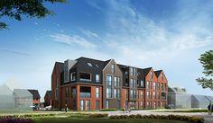 Appartementengebouw te Molenaarsgraaf   V.d. Padt & Partners architecten   Sterk adviesbureau voor bouwconstructies b.v.