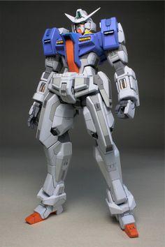 GUNDAM GUY: HG 1/144 Gundam AGE-1 Spallow [RG Style] - Customized Build