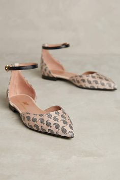 ugh, why are the ones I like always the expensive ones... $368. Day Birger et Mikkelsen Paisley D'Orsay Flats - anthropologie.com