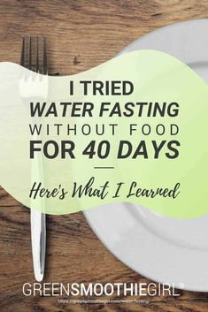 """""""I tried fasting without food for 40 days"""". Check out what I learned when I didn't eat food for 40 days and the health benefits from water fasting and modified fasting. Weight Loss Water, Weight Loss Meal Plan, Fast Weight Loss, 40 Day Fast, Fast And Pray, Water Fast Results, Fast Quotes, Fitness Workout For Women, Water Fasting"""