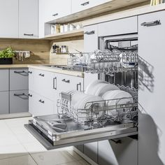Kuchnie nowoczesne | WFM KUCHNIE - meble kuchenne Kitchen Design, Kitchen Ideas, Kitchen Furniture, Cool Kitchens, Home Improvement, Indoor, Interior Design, House, Kitchens