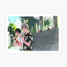 Phone Stickers, Anime Stickers, Journal Stickers, Manga Art, Anime Art, Wallpaper Aesthetic, A Silent Voice, Cute Phone Cases, Art Background