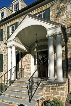 Porch Roof; CV Four - traditional - porch - baltimore - by Penza Bailey Architects