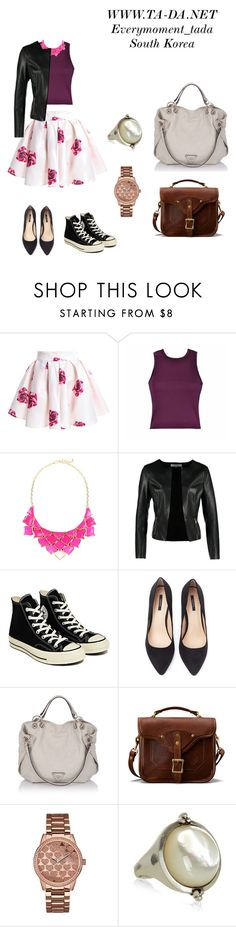 """WWW.TA-DA.NET Everymoment_tada South Korea"" by misuya ❤ liked on Polyvore featuring George J. Love, ONLY, Converse, Forever 21, J.W. Hulme Co. and GUESS"