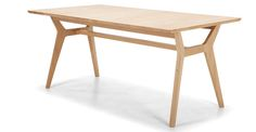 Jenson Extending table solid oak, Made, 699 Scandi Dining Table, Oak Table, Dining Table Chairs, Dining Furniture, Extendable Dining Table, New Kitchen, Kitchen Dining, Table Extensible, Wood